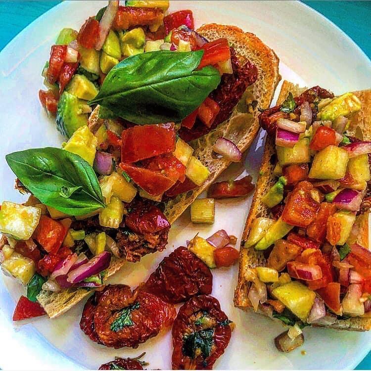 vegan lunch vegan salad
